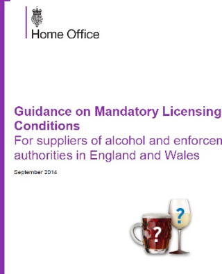 Mandatory licensing conditions