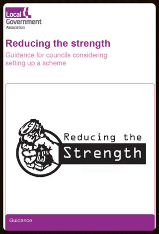 Reducing the strength LGA guidance