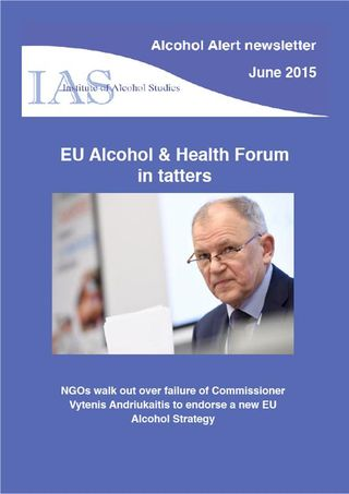 IAS alcohol alert June 2015