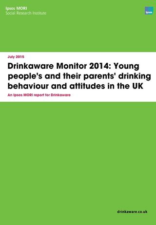 Drinkaware Monitor young people