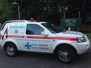 Booze ambulance