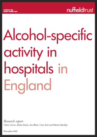 Nuffield alcohol report