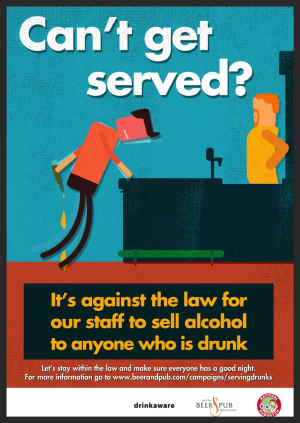 BBPA sales to drunks poster