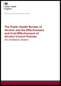 PHE alcohol evidence 2016