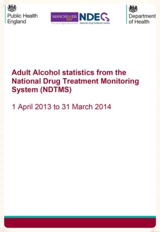 Alcohol statistics England 2014