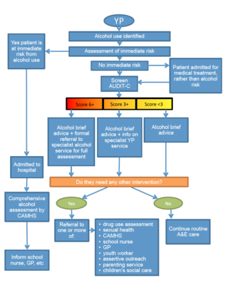 YP A&E pathway