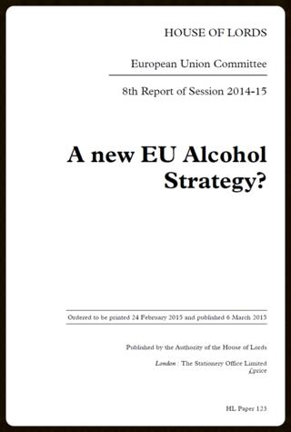 EU strategy alcohol