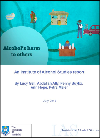 Alcohols harm to others IAS