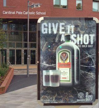 Ad-outside-school