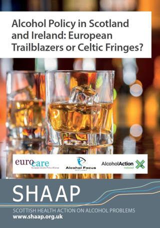 Alcohol policy in Scotland & Ireland SHAAP 2016