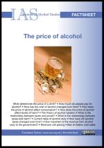 IAS price of alcohol factsheet