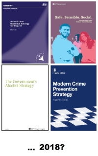 National alcohol strategies for England