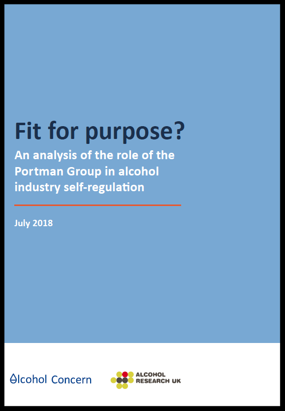 New Report On Self Regulation And >> Fit For Purpose Report Calls For Review Of Alcohol Marketing Self