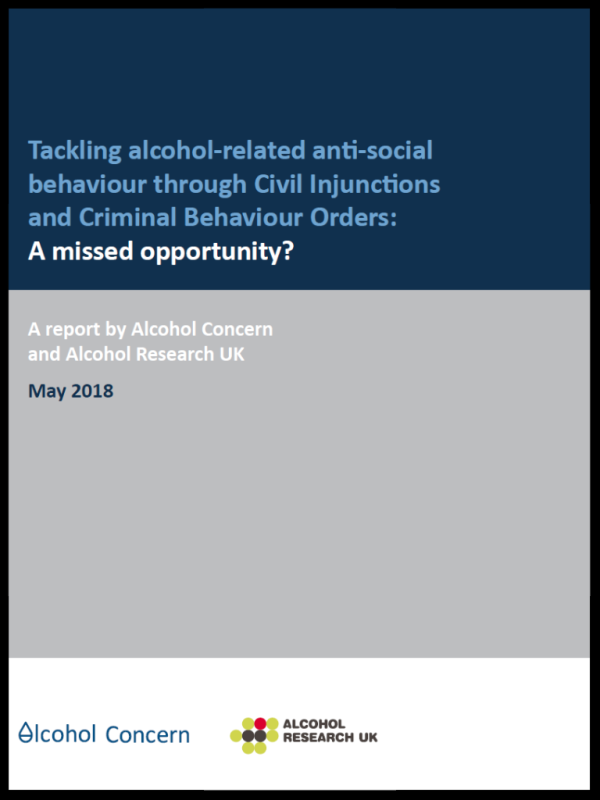 Tackling Alcohol Related Anti Social Behaviour New Powers