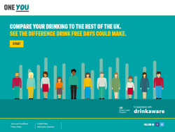 'drink For With Alcohol Uk Drinkaware Days' Campaign Policy Free - Partner Phe