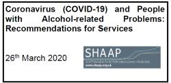 SHAAP COVID guidance